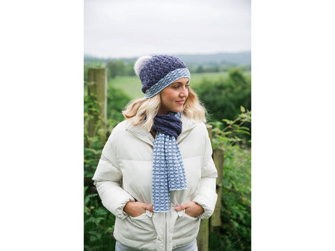 Hat & Scarf Set in Rico Design Creative Soft Wool Aran