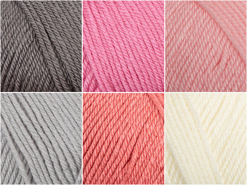 Blush Colour Pack in Deramores Studio DK