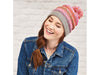 Let's Knit Fair Isle Bobble Hat in Scheepjes Merino Soft