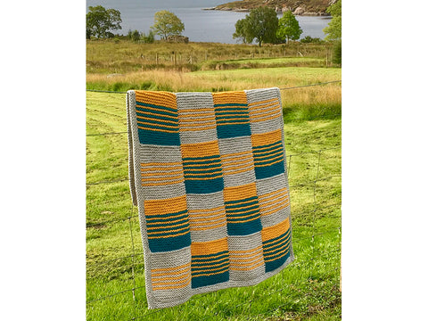 Boundary Blanket by Julia Marsh in Deramores Studio Chunky