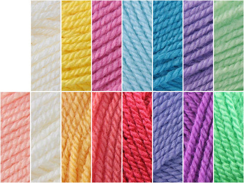 Bright Rainbow - Stylecraft Special DK - Colour Pack