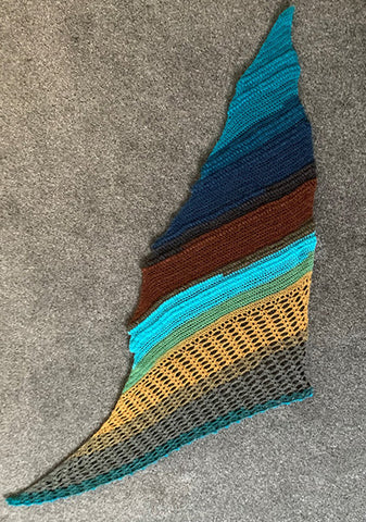 Buckley Shawl by Annette Buckley in Lion Brand Mandala