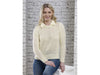 Openwork Lace Sweater Knitting Kit and Pattern in Cygnet DK Yarn (CY1301)