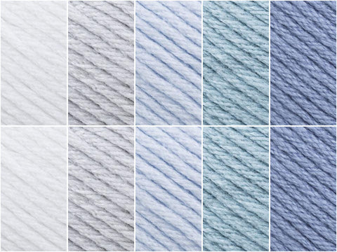 Calm Sea Colour Pack in Sirdar No.1