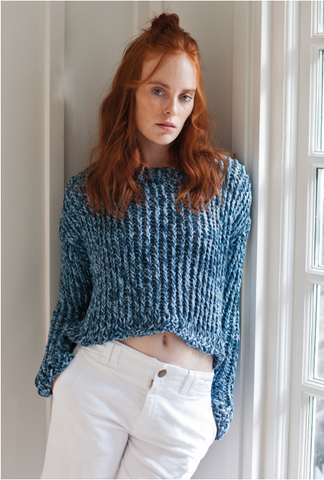 All Tangled Up Sweater in Rowan Selects Stone Washed - Digital Version