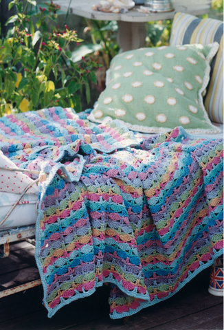 Picnic Blanket Crochet Kit and Pattern in Rowan Yarn