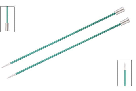 Knit Pro Zing Single Pointed Needles - 35cm Length-Deramores