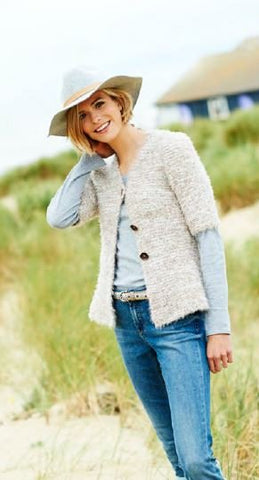 Vintage Style Luxury Evening Cardigan Digital Version
