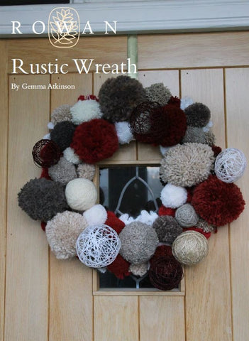 Rustic Wreath by Gemma Atkinson Digital Version