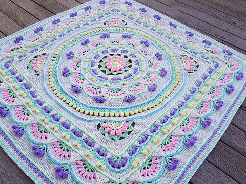 Carnival of Flowers CAL Colour Pack by Natasha Thorley in Stylecraft Special DK