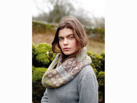 Catstye Cowl by Lisa Richardson in Rowan Moordale