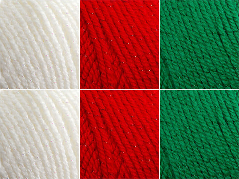 Stylecraft Wondersoft Stardust Christmas Time Colour Pack