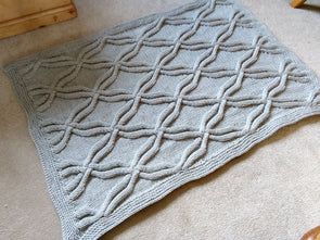 Chunky Rug by Sarah Murray in Deramores Studio Chunky