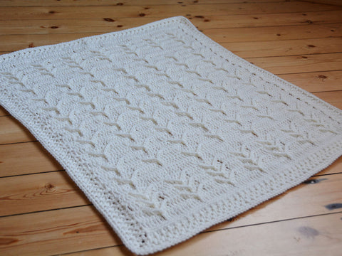 Cleo's Dream Cloud Blanket Crochet Kit and Pattern in Sirdar Yarn