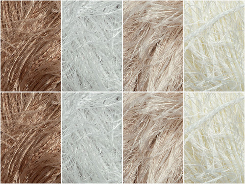 Coffee Colour Pack in Sirdar Funky Fur