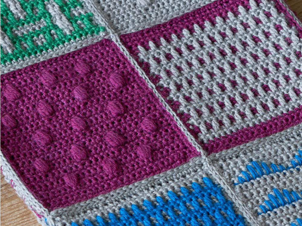 Folk Tales Blanket Crochet Along in West Yorkshire Spinners Yarn