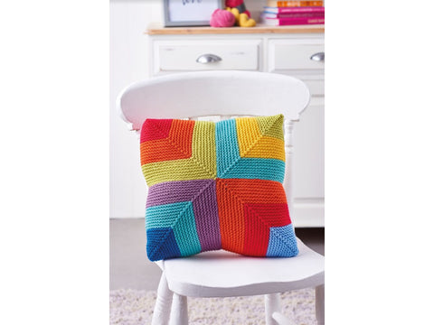 Let's Knit Deramores Studio DK Acrylic Colour Pop Cushion Colour Yarn Pack