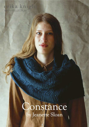 Constance in British Blue 100 by Erika Knight