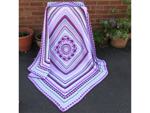 Continuum Blanket Crochet Kit and Pattern in Stylecraft Yarn