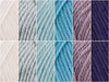 Cote d' Azur Colour Pack in Cygnet Yarns Pure Wool Superwash DK