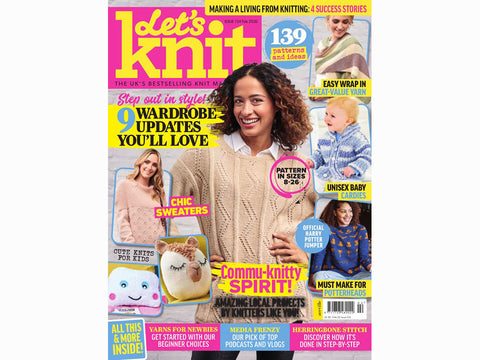 Let's Knit Magazine - Issue 154