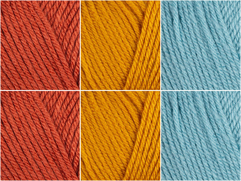 Crimson Seascape Colour Pack in Deramores Studio Aran