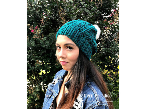 Bond Street Beanie Crochet Kit and Pattern