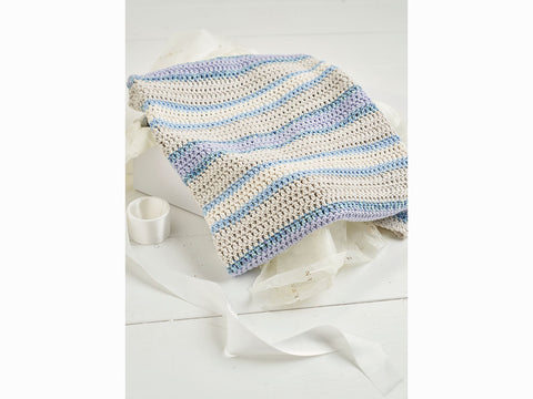 Rowan Selects Mako Cotton Baby Keepsake Blanket Kit