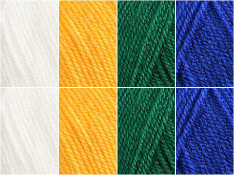 Flag of Brazil Colour Pack in Cygnet DK