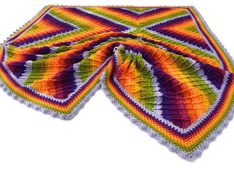 Prismatic Blanket Crochet Kit in Stylecraft Yarn