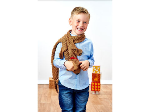 Let's Knit Dachshund Delight in Deramores Studio DK