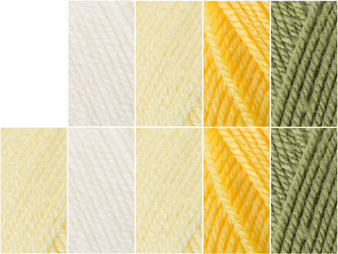 Stylecraft Special DK - Daffodil - Colour Pack