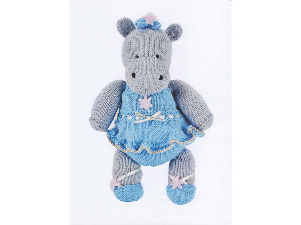 cc1c29f3a6fcb Darcey the Dancing Hippo by Val Pierce in Rico Design Baby Classic ...