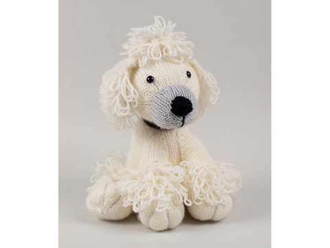 Poodle, Pug & Rottweiler Knitted Dera-dogs by Amanda Berry in Dermores Studio DK (TV Bundles)