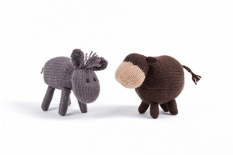 Deramores Farmyard Favourites - Donkey and Cow
