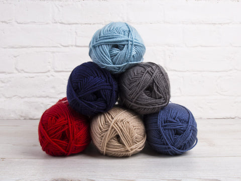 Deramores Studio DK Baby Boy Colour Pack (with a choice of Free Pattern)