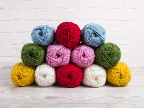 Deramores Studio DK Bright Colour Pack (with a choice of Free Pattern)