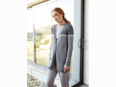 Dotted by Martin Storey in Rowan Cotton Cashmere and Softyak DK