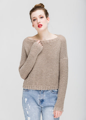 Cuzco Sweater by We Are Knitters - Grey-Deramores