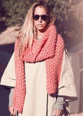 cucho scarf kit by we are knitters