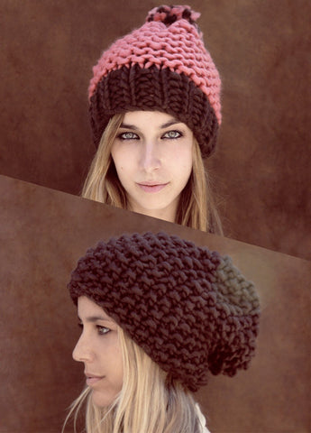 Cuqui's & Sienna Beanies by We Are Knitters-Deramores