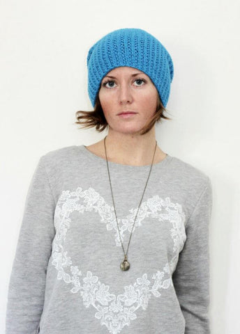 Extra Slouch Hat in Blue Sky Extra (T19)