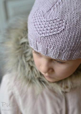 Fay Hat Aran Girls to Adult by Linda Whaley - Digital Version