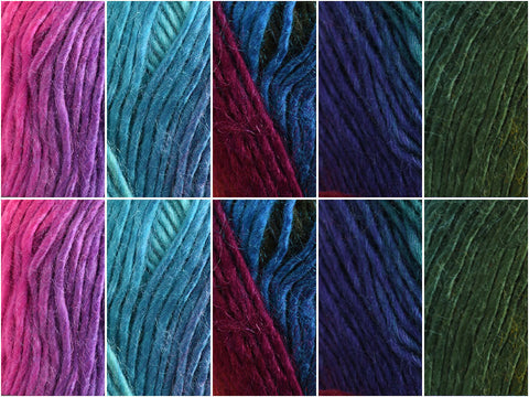 Fantasy Colour Pack in Cygnet Yarns Boho Spirit