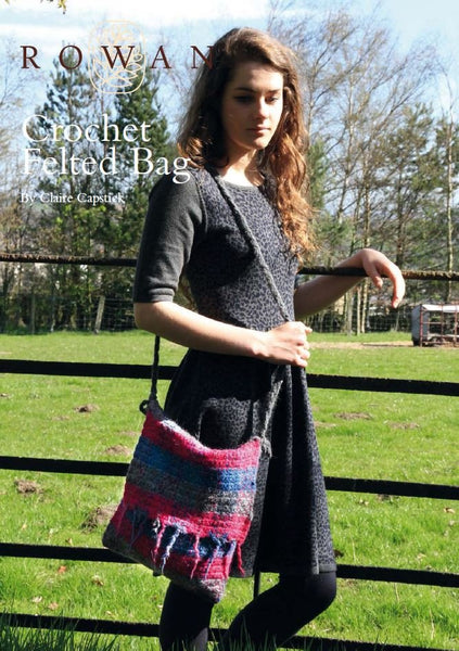 Felted Bag by Claire Capstick-Deramores
