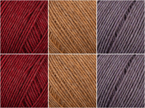 Fig Colour Pack in Regia Premium Merino Yak