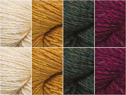 Rowan Valley Tweed Forest Walks Colour Pack