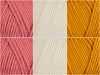 Grapefruit Colour Pack in Deramores Studio Aran