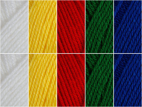 Flag of Portugal Colour Pack in Hayfield Bonus DK