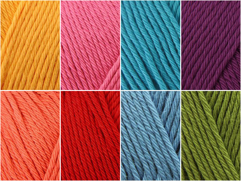 Stylecraft Classique Cotton DK Mandala Magic Colour Packs